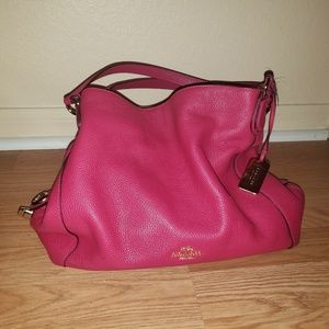 COACH Brand New Excellent Condition Pink Bag